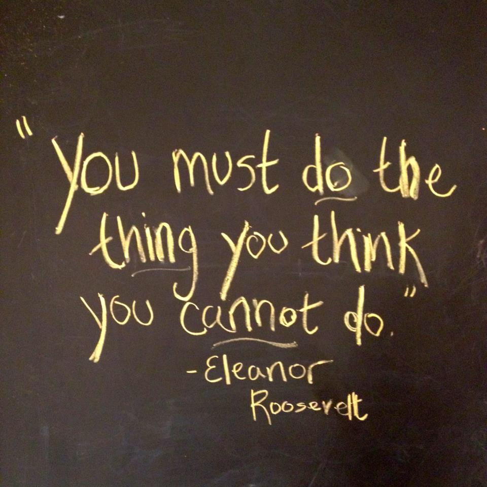 Eleanor Roosevelt Quote Three Boys And A Mom